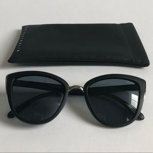 "Quay ""My Girl"" Oversized Cat Eye Sunglasses"